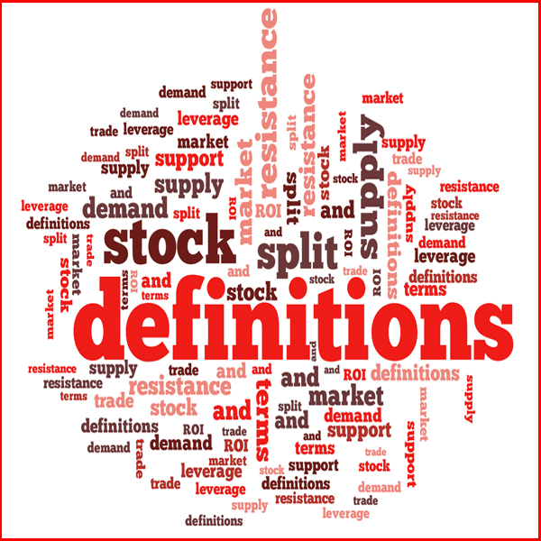 Stock Terms and Definitions